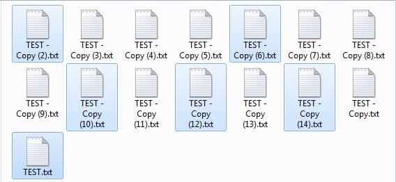 File Operation Tricks 1